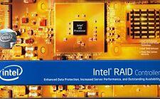 INTEL SRCS16 16 PORT SATA 3GB/S PCIe RAID CONTROLLER CARD - NEW!