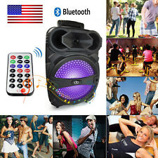 Portable Wireless Speaker Stereo Audio USB TF Card 3.5mm AUX Bluetooth Boombox