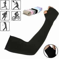 Cooling Arm Sleeves Cover Cycling Run Fishing UV Sun Protection Outdoor Unisex