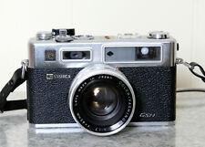 Yashica Electro 35. 35mm Rangefinder Film Camera - 45mm 1.7 Lens