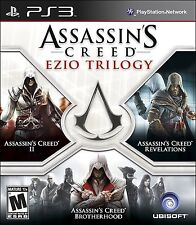 Assassins Creed Ezio Trilogy PlayStation 3 - II Revelations Brotherhood PS3 NEW