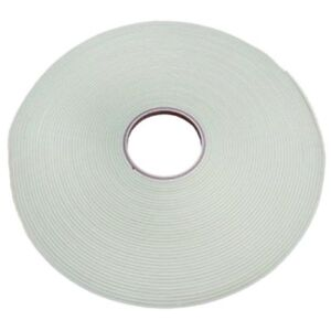 Double Sided Glazing Security Tape - 1mm x 50Mtrs - White