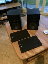 Polk Audio R10 R-10 Hifi stereo Bookshelf Speakers Audiophile BLACK VGC UK SELL