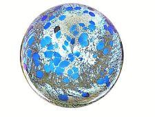 EARLY1984 SIGNED PETER LAYTON  British Studio Art Glass iridescent bowl