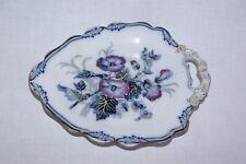 """Antico WEDGWOOD Pearl scarse color foglia di forma 11"""" plate dish 5563"""