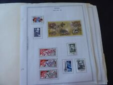 Russia 1988-1993 Stamp Collection in Album Pages