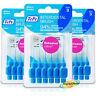 3x Tepe 0.60mm Blue Interdental Brush Size 3 Easy Clean Between Teeth Pack of 6