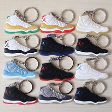 3 PCs Air Jordan Generation 1 4 5 6 7 8 11 Sneaker Keychain Random Select 3 PCs