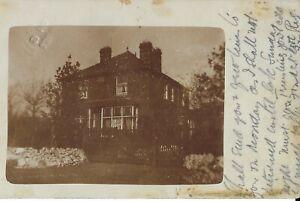 1907 Postcard Unknown House Stoke on Trent Staffs.