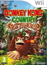 Donkey Kong Country Returns for Wii & Wii U - MINT DISC - OZ Seller - Fast Post