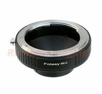 Nikon lens to C Mount Film Movie Bolex Video Camera CCTV Adapter Ring