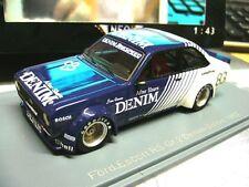 FORD Escort RS Zakspeed MKII Gr.2 DRM Denim v Ommen 1982 Zolder #83 NEO  1:43