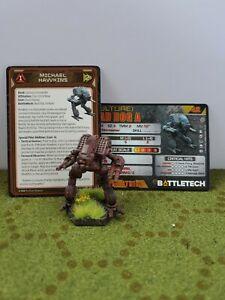 Battletech Clan Invasion Mad Dog/Vulture Painted- FREE SHIPPING Kickstarter
