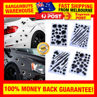 Realistic 3D Bullet Hole Stickers Realistic Car Motorbike Bullets Holes Sticker