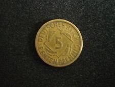 5 Rentenpfennig 1924 A, Jg.308, ss