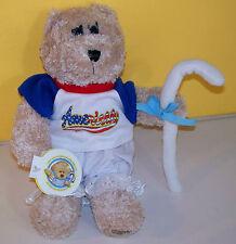 2004 Starbucks 30th Edition Girl Teddy Bear Little Bo Peep Plush Stuffed Animal