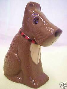 Hand-made Belgian Chocolate Terrier Dog