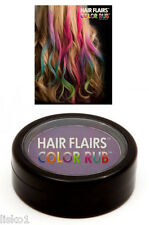 Hair Flairs Color Rub Temporary Vibrant Fun Hair Colors .14 oz. (purple) LMS