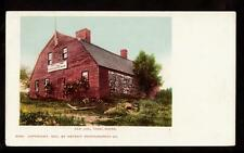 1901 old jail house york maine postcard