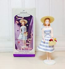 Suburban Shopper Midge 35th Anniv. MIB Hallmark Christmas Ornament 1998 Barbie