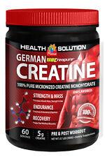 Extreme Muscle Growth - German Creapure® Creatine 3000mg - Creatine 600 1B