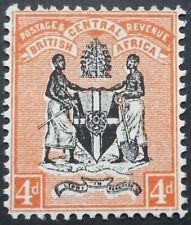 More details for bca/nyasaland 1896 four pence sg 34 mint