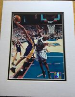 KOBE BRYANT LOS ANGELES LAKERS 8X10 COLOR PHOTOFILE PHOTO MATTED TO 11X14  NBA