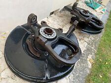 Genuine Jaguar XK8 XKR X100 Rare Front Wheel Hubs X2 (EXCELLENT)
