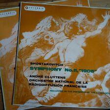 33CX 1604/05 Shostakovich Symphony No. 11 / Cluytens / ONRF 2 LP set