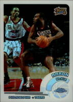 2002-03 Topps Chrome Refractors White Border 76ers Card #59 Aaron McKie /249