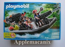 SEALED - NEW - PLAYMOBIL 4845 Treasure Hunters with Speedboat & Hook Canon