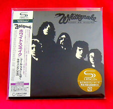 Whitesnake Ready An' Willing SHM MINI LP CD JAPAN UICY-93739
