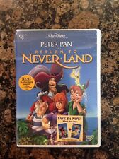 Return to Never Land (DVD, 2002) NEW-AUTHENTIC US Release