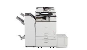 Ricoh Aficio MP C5503SP Digitalkopierer Netzwerk-Drucker Scanner