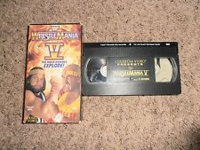 WRESTLEMANIA V 5 wwf COLISEUM VIDEO vhs HULK HOGAN wrestling MACHO MAN SAVAGE