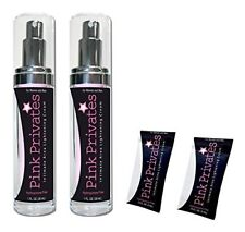 2 PINK PRIVATES + foils intimate area lightening cream anal body action bleach