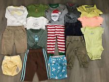 Baby Boy Clothing Lot, 9 Months, 16 Items, Carter's, Children's Place