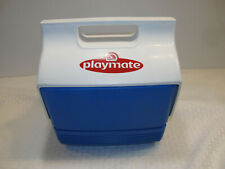 Igloo PlayMate Cooler Blue and White side push button