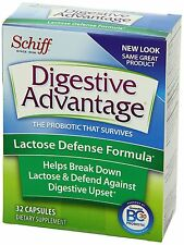 Digestive Advantage Probiotics Lactose Defense Formula Dietary Supplement 32 ct