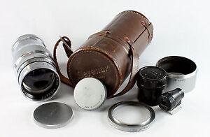 Canon Rangefinder Lens, SM, Serenar 2/85mm, #55377, made in Occupied Japan
