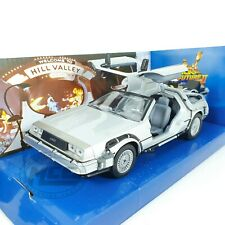 1/24 COCHE CAR DeLOREAN REGRESO AL FUTURO II BACK TO THE FUTURE WELLY