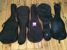 Job Lot 5 Material Guitar Gig Bags / Carry covers (Ref F)