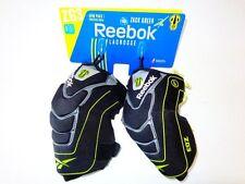 New Reebok Zack Greer Medium Lacrosse Arm Pads Black/Lime