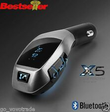 Car Kit Handsfree Wireless Bluetooth LCD FM Transmitter MP3 Player USB Charger