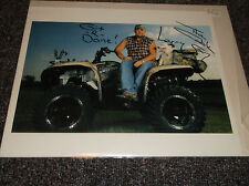 Larry the Cable Guy signed 10x8 photo probably a reprint