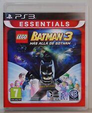 LEGO BATMAN 3 MAS ALLA DE GOTHAM  - PLAYSTATION 3 - PAL ESPAÑA - COMPLETO