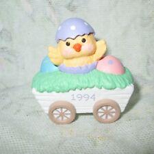 HALLMARK Merry Miniature 1994 Chick in Wagon