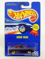 Hot Wheels BMW 850i #255 Modellino Auto 3 Spoke Variante Moc Completo 1991