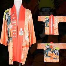 Anime Naruto Shippuden Cloak Kimono Bathrobe Coat Cosplay Costume One Size