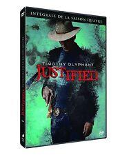 39858//JUSTIFIED INTEGRALE SAISON 4 COFFRET 3 DVD NEUF SOUS BLISTER